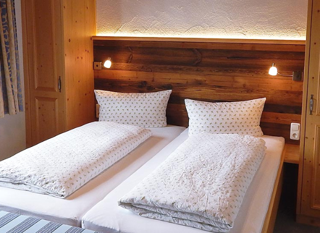 Zimmer im Berggasthof Sonne in Sonthofen